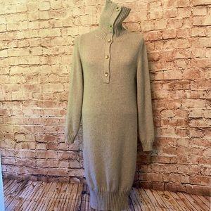 Stunning vintage Krizia Maglia Alpaca blend sweater dress